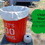 Chicken Manure Compost Tea for Seedlings