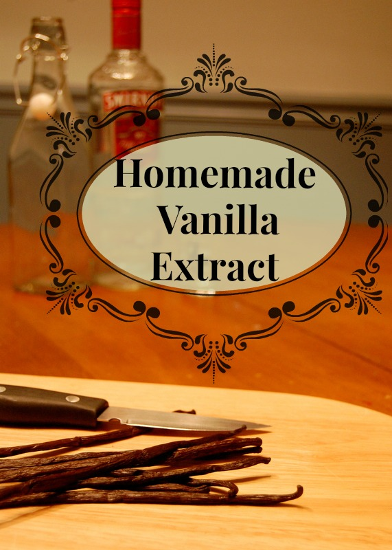 Make your own vanilla extract for yourself & to give to your favorite baker!